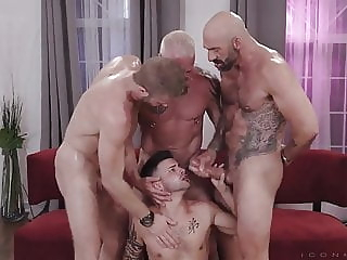 MORE IS MORE XVI bareback (gay) big cock (gay) blowjob (gay)