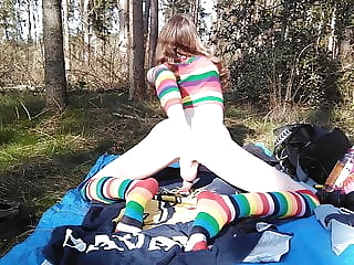 Rainbow forest twink (gay) crossdresser (gay) fisting (gay)