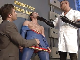 Superman BDSM - Jessie Colter - Lance Hart- Cameron Kincade bdsm (gay) blowjob (gay) handjob (gay)