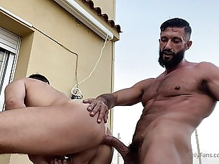 Halif Haruk and Indiboy bareback big cock daddy