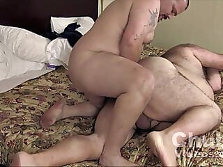 Big Chubs Flip Fuck bareback bear daddy