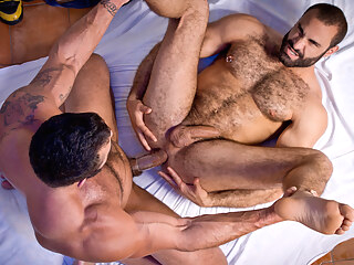 Rogan Richards & Paco in The Tourist Video gay bear gay hd gay muscle