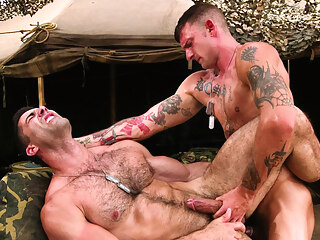Ricky Sinz & Roman Ragazzi in Grunts The New Recruits, Scene #01 6:00 2016-07-08