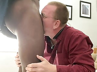 Younger daddy sucking black cock & getting fucked 9:15 2020-04-27