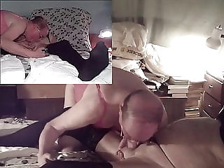 Mature old men in lingerie sucking and fucking nylon Daddy amateur (gay) bareback (gay) blowjob (gay)