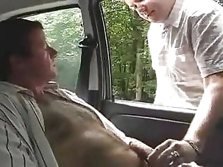 Outdoor in the park amateur (gay) bareback (gay) blowjob (gay)