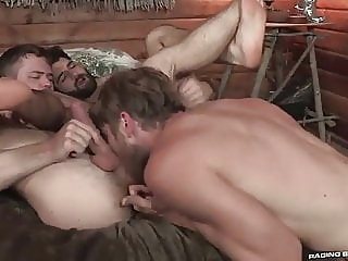 Tegan Zayne, Colby Keller and Kurtis Wolfe (TR P6) group sex (gay) hunk (gay) muscle (gay)