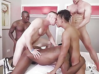 Gay Interracial Sex Orgy Part One 23:37 2020-04-19