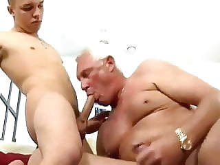 Daddy fuck and get fucked daddy (gay) masturbation (gay) old+young (gay)