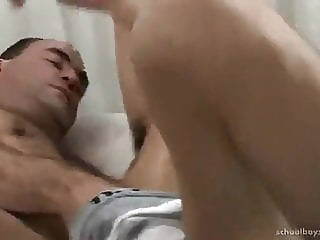 Young Gay Boy Fuck Mature Man bareback (gay) blowjob (gay) cum tribute (gay)