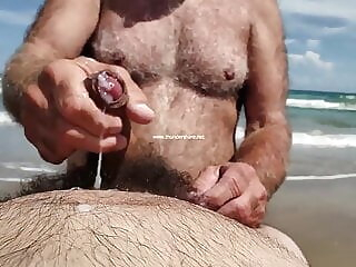 If I Had This Daddy Tugging On My Cock I'd Cum Too!!! 0:47 2020-12-23